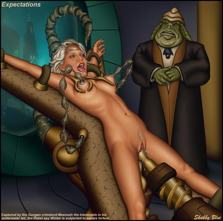 BDSM Fetish   Star Wars Slave Nude