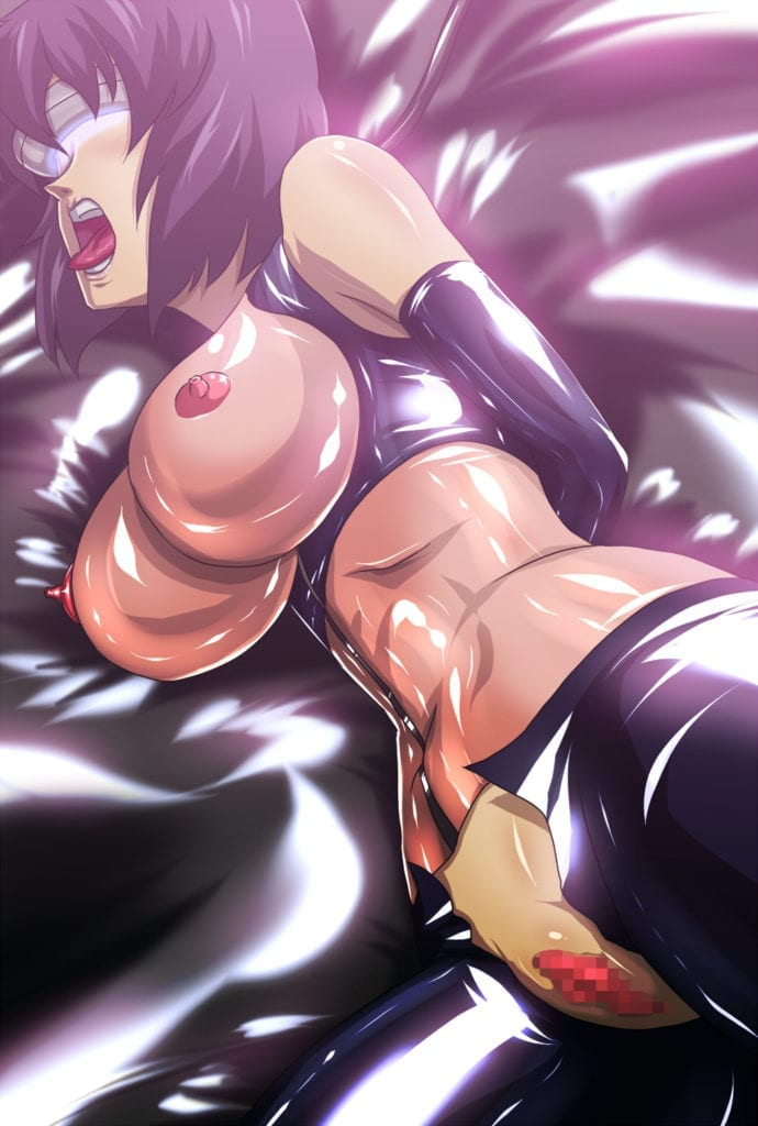 Major Motoko Kusanagi ~ Ghost in the Shell Rule 34 ...